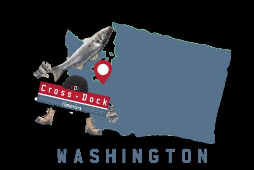 Washington Cross Dock America Mascot